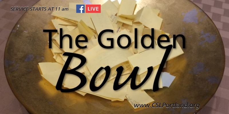 The Golden Bowl @ Facebook Live
